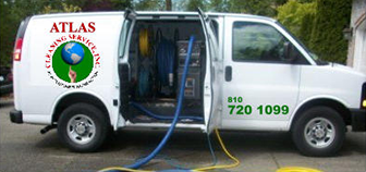 Grand Blanc Carpet Cleaners - Atlas Cleaning Service, Inc - van